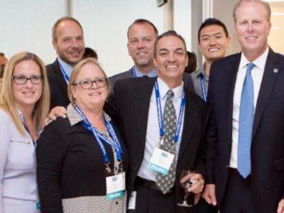 Blue Tech Incubator Members with Mayor Faulconer