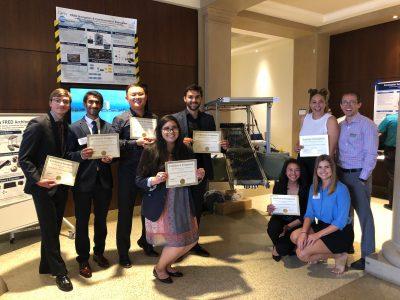 CBsea team wins engineering prize